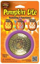 Halloween Flickering Pumpkin Color Change Lighting Strobe Jack O Lantern Light