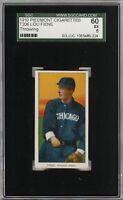 Rare 1909-11 T206 Lou Fiene Throwing Piedmont 350 Chicago SGC 60 / 5 EX