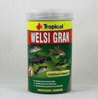 Welsi Gran Tropical 1000ml Granulé Nourriture Pour Silures 17,99€/ L