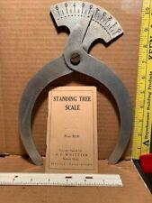 Drescher Tree Caliper & Standing Tree Scale Book Arboriculturist Timber Cruiser