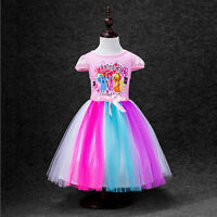 My Little Pony Costume Toddler Girls Rainbow Dash Girls Dresses