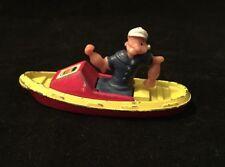 Vintage Corgi Juniors 1980 Popeye in Boat