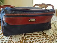 "Vtg SAMSONITE Luggage Duffle Bag Gym Travel Purse 15"" Carry On Shoulder Airplane"