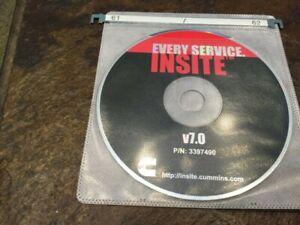 Cummins Insite 8.5.2 pro USB DRIVE/DISK ( SEE Description )