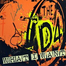 """7"""" THE D4 What I Want / Omerta Autograms of all band members Punk 2005 like NEW!"""