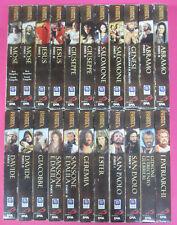 22 VHS film LA STORIA DELLA BIBBIA serie completa 1/22 SAN PAOLO DEA(F182)no dvd