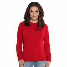 NBA Chicago Bulls Women's Dugout Reversible Pullover Sweatshirt,Medium,Red