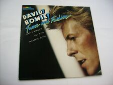 DAVID BOWIE - FAME AND FASHION - LP VINYL IN EXCELLENT CONDITION 1984 - PORTUGAL