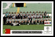 Panini Champions League 2000/2001 - Sporting Clube de Portugal Team No.58
