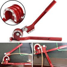 3in1 180° Heavy Tube Tubing Pipe Bender Steel Copper Fuel Brake Lines Light Tool