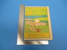 Vintage 1976 The Mighty Atom The Story Of Electricity From Amber To Atoms M476