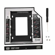 "SATA III 2.5"" Hard Drive Bay Caddy HDD SSD Converter Adapter 12.7mm CD-ROM Tray"