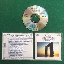 1 CD Musica THE WORLD OF DIGITAL CLASSICS SAMPLER 3 BEETHOVEN +++ (1989) Germany