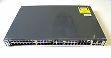 Cisco Catalyst WS-C3750-4TS-S 48-Port 10/100 + 4 x Gigabit SFP Ports  Switch