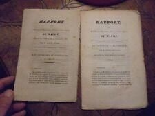 Société d'Agriculture de Mâcon LES anciens PRESSOIR S CYLINDRIQUES REVILLON 1833