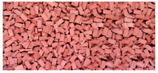 HO SCALE BRICKS - RED, 3000 COUNT suit diorama, model train, war gamer