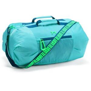 Under Armour UA Girl's Downtown Duffel Bag - 32L - Blue - New