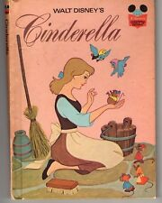 1974 Disney's Cinderella Wonderful World of Reading Book Club edition No. 16
