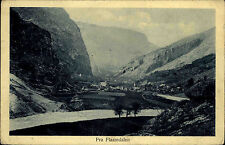 Flaamdalen Norway Norge Old AK 1910 Valley Mountains Landscape Village Landskap Dalen