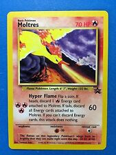 MOLTRES 21 Black Star PROMO Pokemon Card NEVER USED/PLAYED NM-MINT