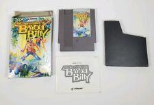 The Adventures of Bayou Billy Nintendo NES Complete Cib