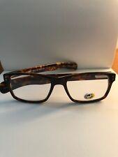 EYE BOBS Eyeglasses Frames ROY D 2890 20 Tortoise & Tort Cream Chart Arm 2.7 Mag