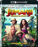 Jumanji: Welcome to the Jungle (4k Ultra HD + Blu-ray)