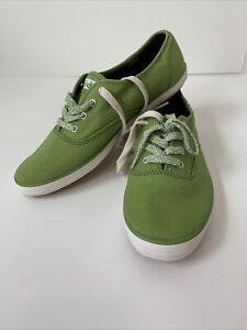 Keds Women's Champion Seasonal Solids Sneaker Green 8.5 US 6.0 UK 39.5 EUR
