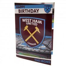 West Ham United F.C - Musical Carte D'Anniversaire