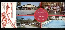 Florida FL Oversized postcard Holiday Trav-L-Park Trailor Camp Ocala FL