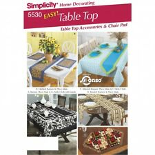Simplicity Sewing Pattern 5530 One Size Home Decorating