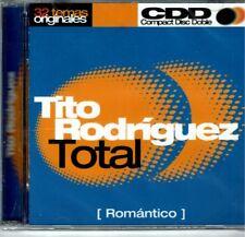 Tito Rodriguez Total Romantico  (2 CDS SET) 32 Exitos   BRAND  NEW SEALED CD