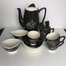 More details for carltonware coffee set complete 60's