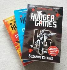 The Hunger Games Trilogy 3 Book Set Suzanne Collins Catching Fire Mockingjay