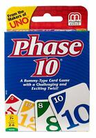 Mattel Phase 10 Card Game BRAND NEW - FREE NEXT DAY DELIVERY WITH DPD TO UK