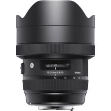 Sigma 12-24mm f/4 DG HSM ART Wide-Angle Full Frame Lens CANON 4 YR USA WARRANTY