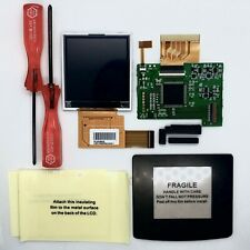 Game Boy Color (GBC) LCD Drop-In Backlight Mod Kit | No Soldering | SEE VIDEO