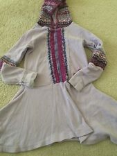 Naartjie Sz 5 Hooded Purple Dress