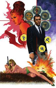James Bond (2015) #1 1st Print Comics Virgin Variant Excl by Joe Jusko  ONLY 400