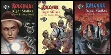 Kolchak Tales Night Stalker of the Living Dead Comic Set 1-2-3 Lot Zombie Horror