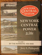 MORNING SUN BOOKS - NEW YORK CENTRAL POWER In Color Volume 1 - HC 128 Pages
