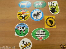 STICKER,DECALS SET KOEIEN, COWS LOT OF ABOUT 18 STICKERS SEE PICTURES