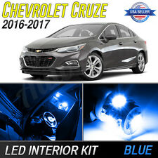 Blue LED Interior Lights Package Kit for 2016-2017 Chevrolet Cruze