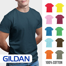 Mens Gildan Softstyle T-Shirt Plain Blank Ringspun Cotton Casual Summer Style