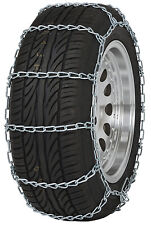 "155/80-12 155/80R12 Tire Chains ""PL"" Link Snow Traction Device Passenger Car"