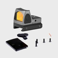 tactical Mini RMR Red Dot Sight Collimator for 20mm (gray)