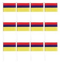 Genderfluid Pride Edged Small Hand Waving Flag
