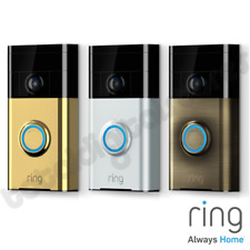 RING VIDEO DOORBELL 720P CAMERA WIFI MOTION 2-WAY AUDIO MONITOR (1ST GEN)