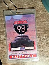 CLINT BLACK ORIGINAL 1998 Nothin' but the...TOUR LAMINATE BACKSTAGE PASS