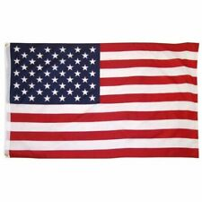COTTON USA 3x5 AMERICAN FLAG Heavy Weather Resistant In/Outdoor 3' x 5'